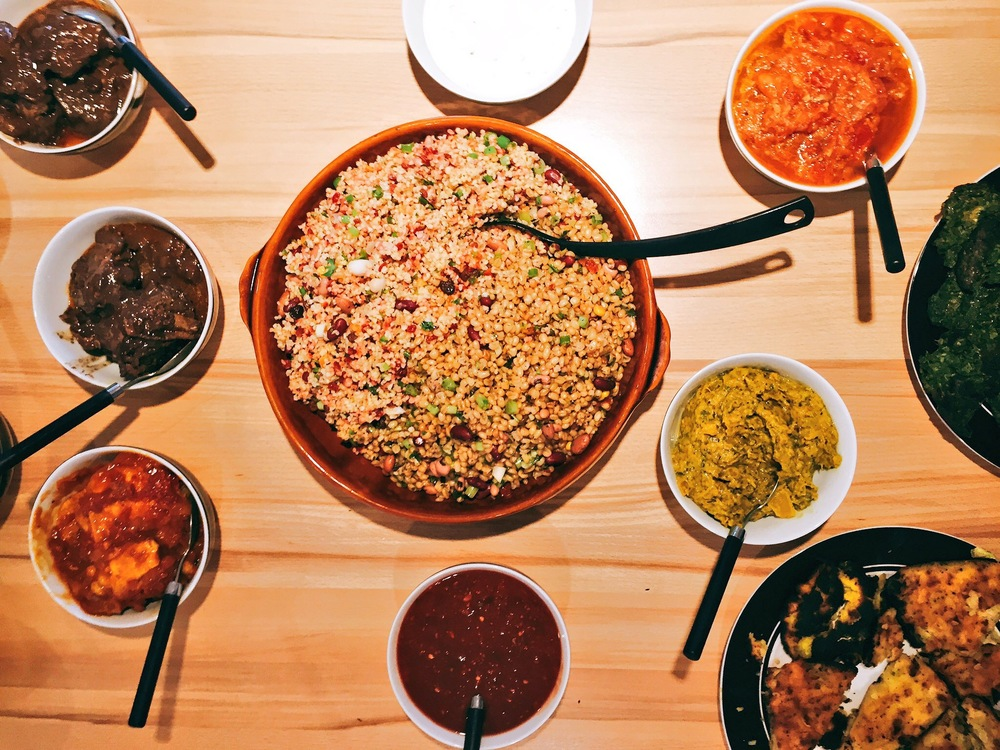 Persian Feast at a supperclub with Anzali and Tabl