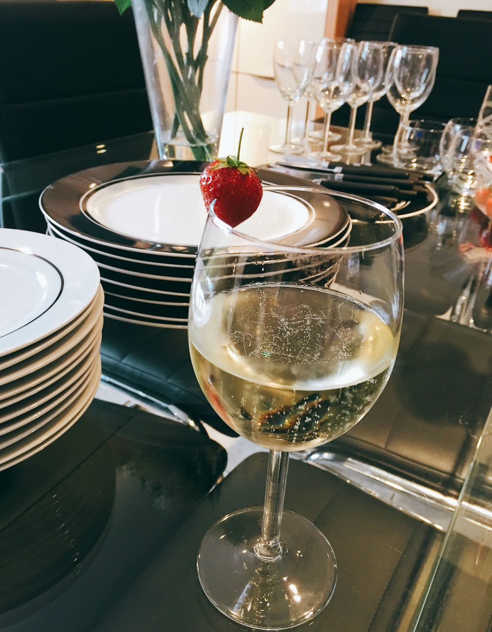 Prosecco - Persian Feast with Anzali products