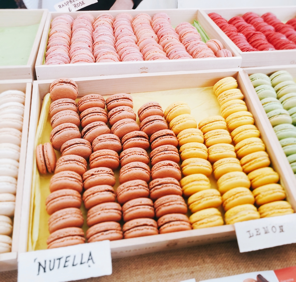 Macaroons - Taste of London 2016