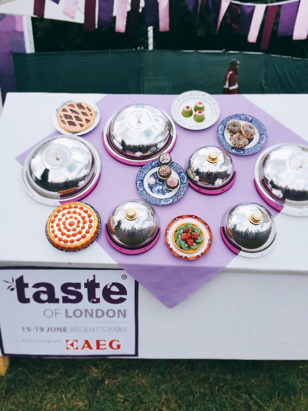 Table setting - Taste of London 2016