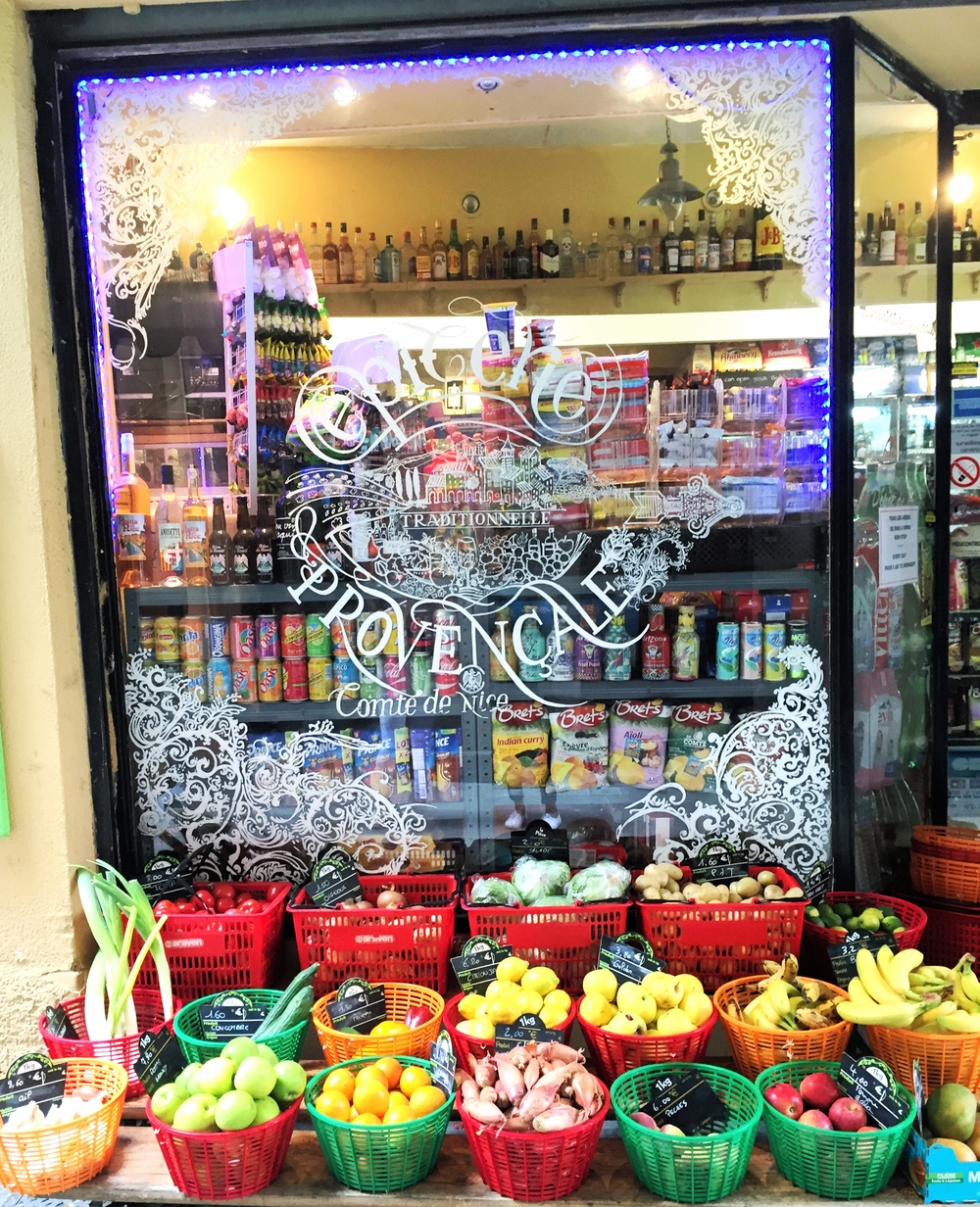Food shops in Nice - Nice travel blog
