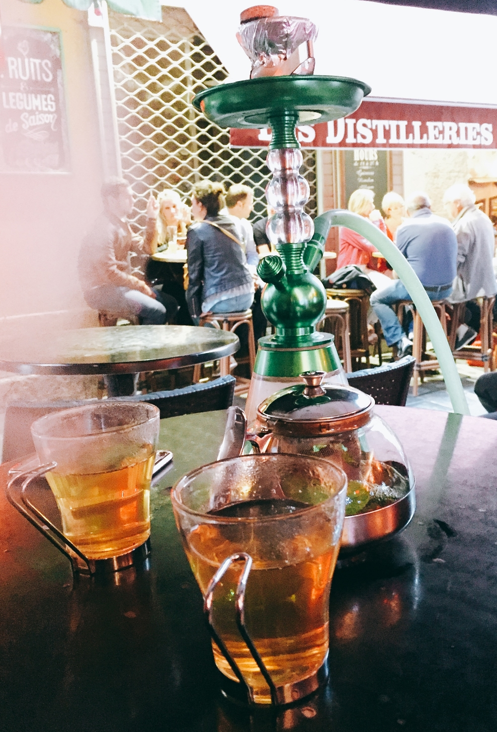 Shisha in Nice Old Town - Nice travel blog