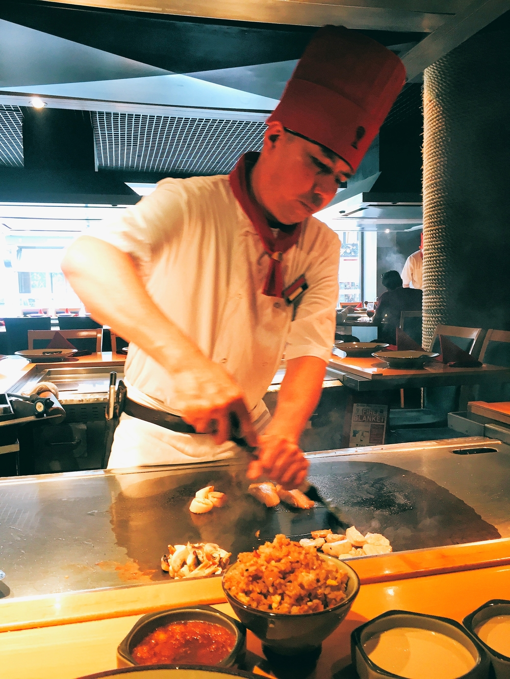 Review: Benihana, Piccadilly London