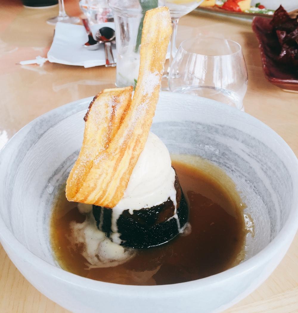 Dessert, Review: Birthday at Sushisamba London