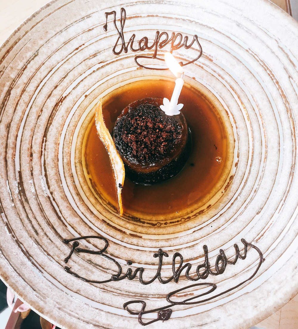 Dessert, Review: Birthday at Sushisamba London