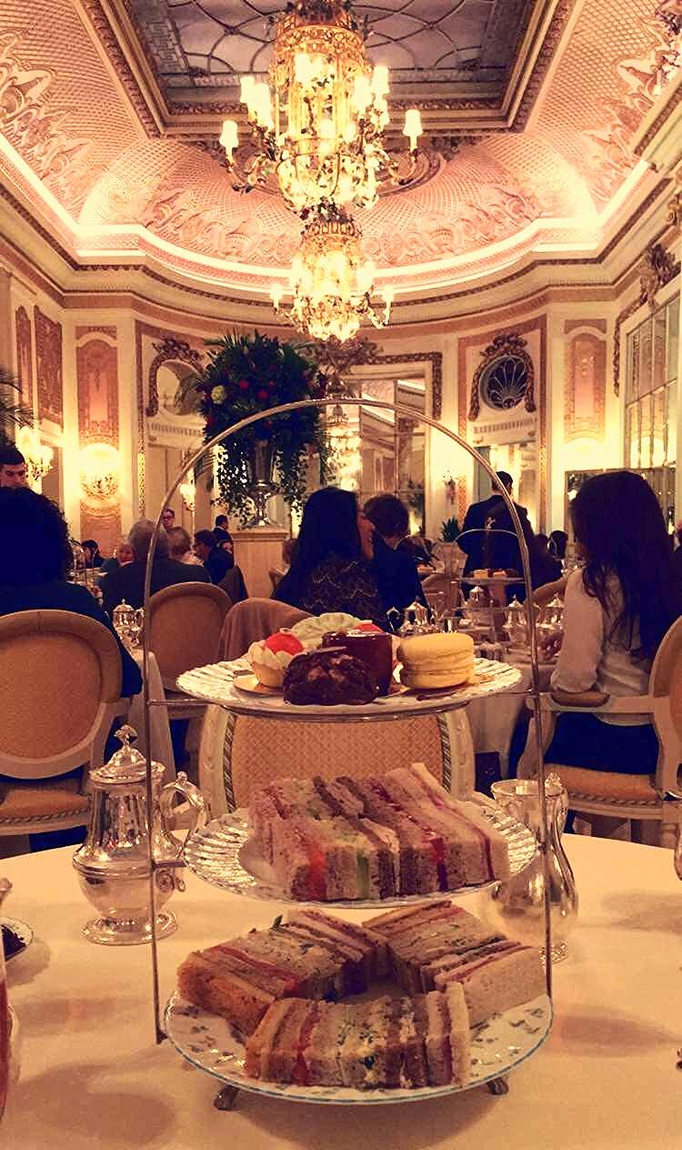 Tea at the ritz london voucher