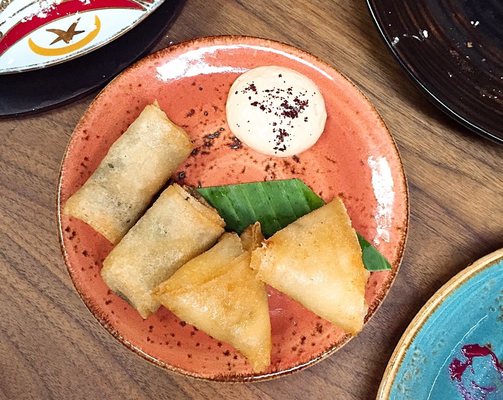 Starters - Momo restaurant review, Mayfair London