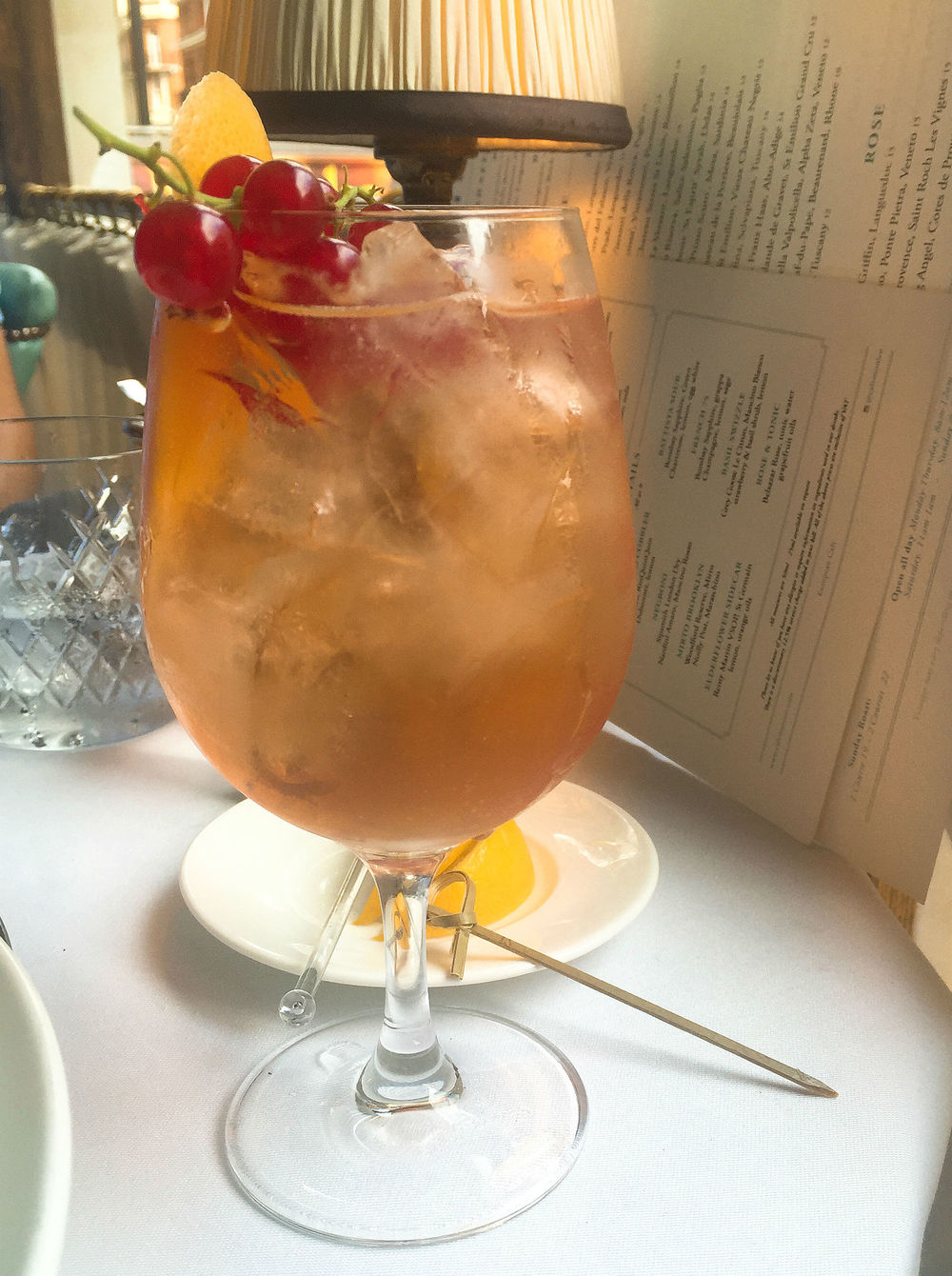 Review: Cafe Monico - cocktails