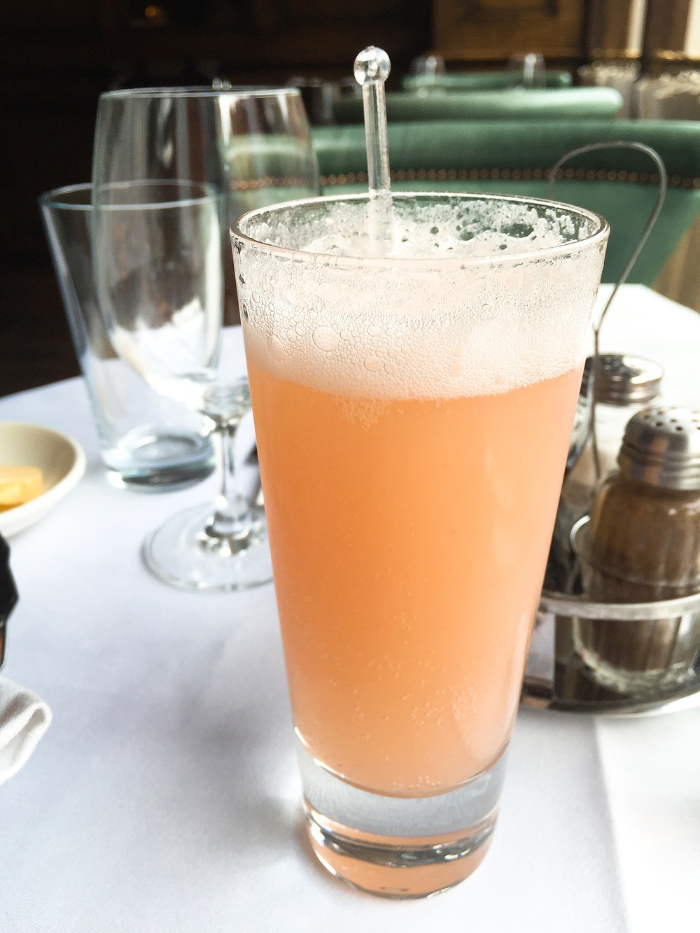 Review: Cafe Monico - drinks