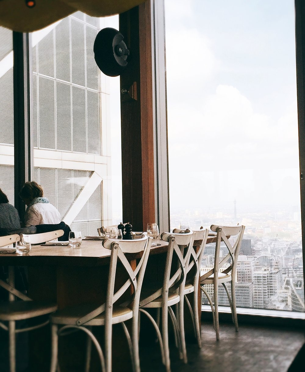 Duck and Waffle interior