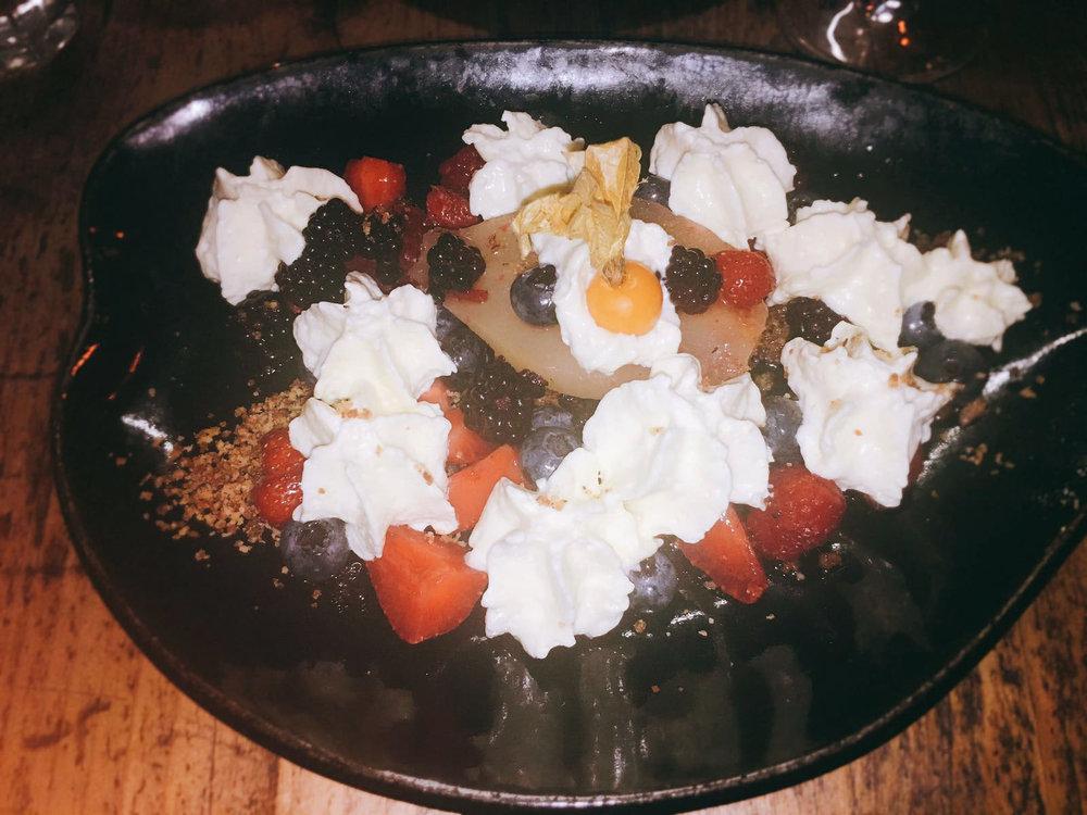 Dessert - Salut! Restaurant Review
