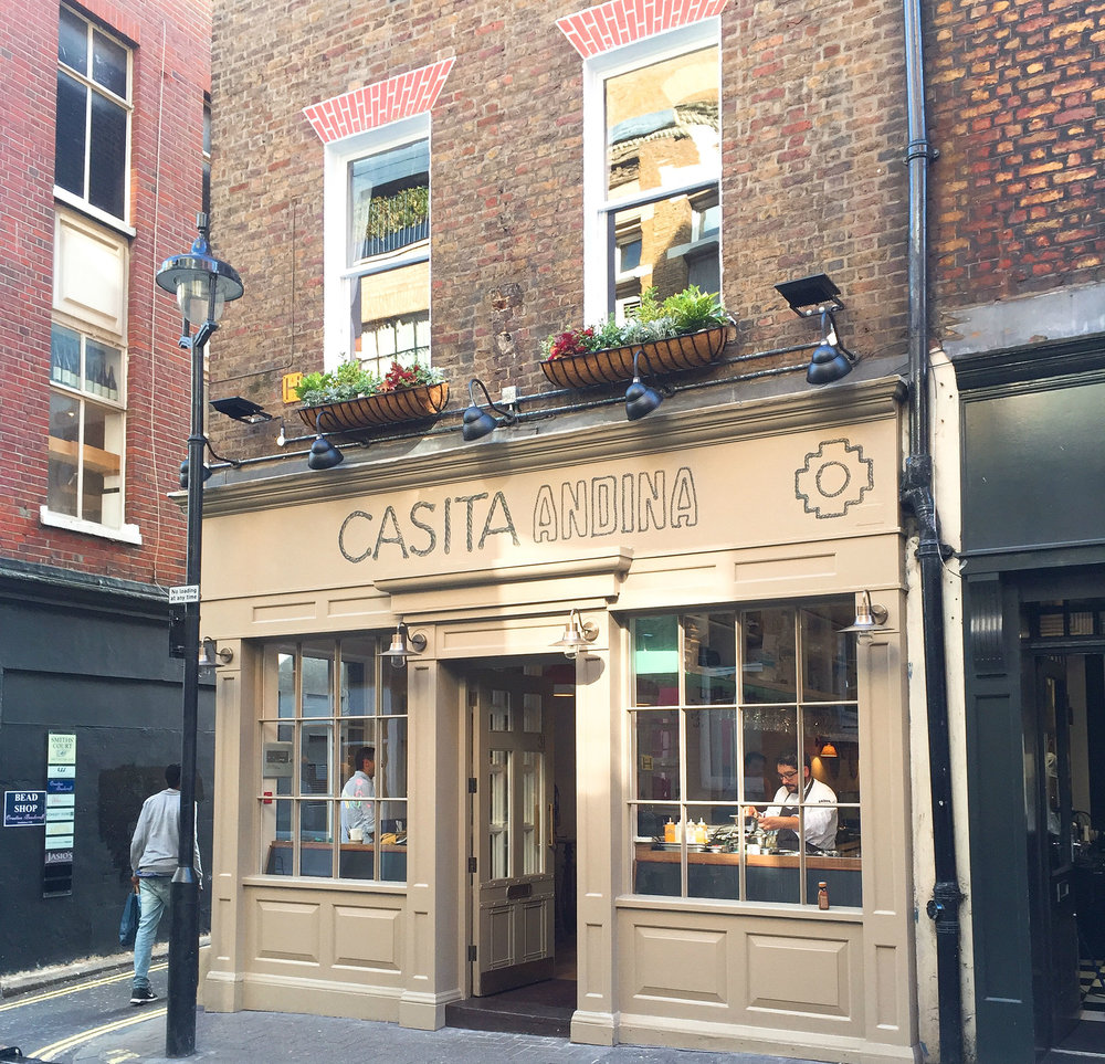 Casita Andina restaurant review exterior