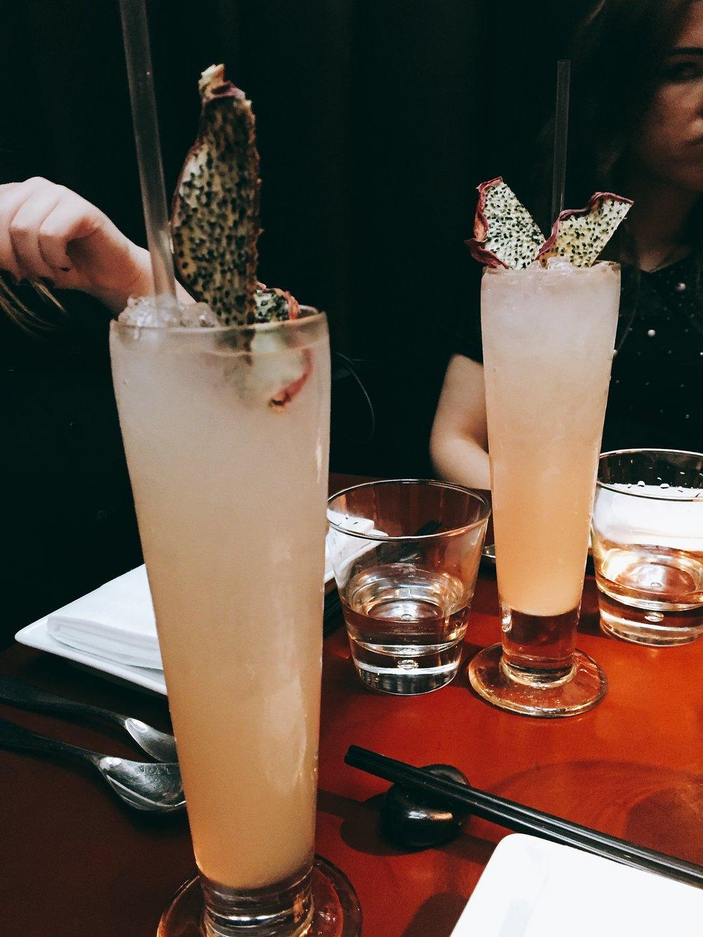 Cocktails at Crazy Bear Fitzrovia