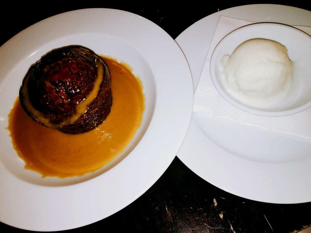 Dessert - Vivat Bacchus restaurant review