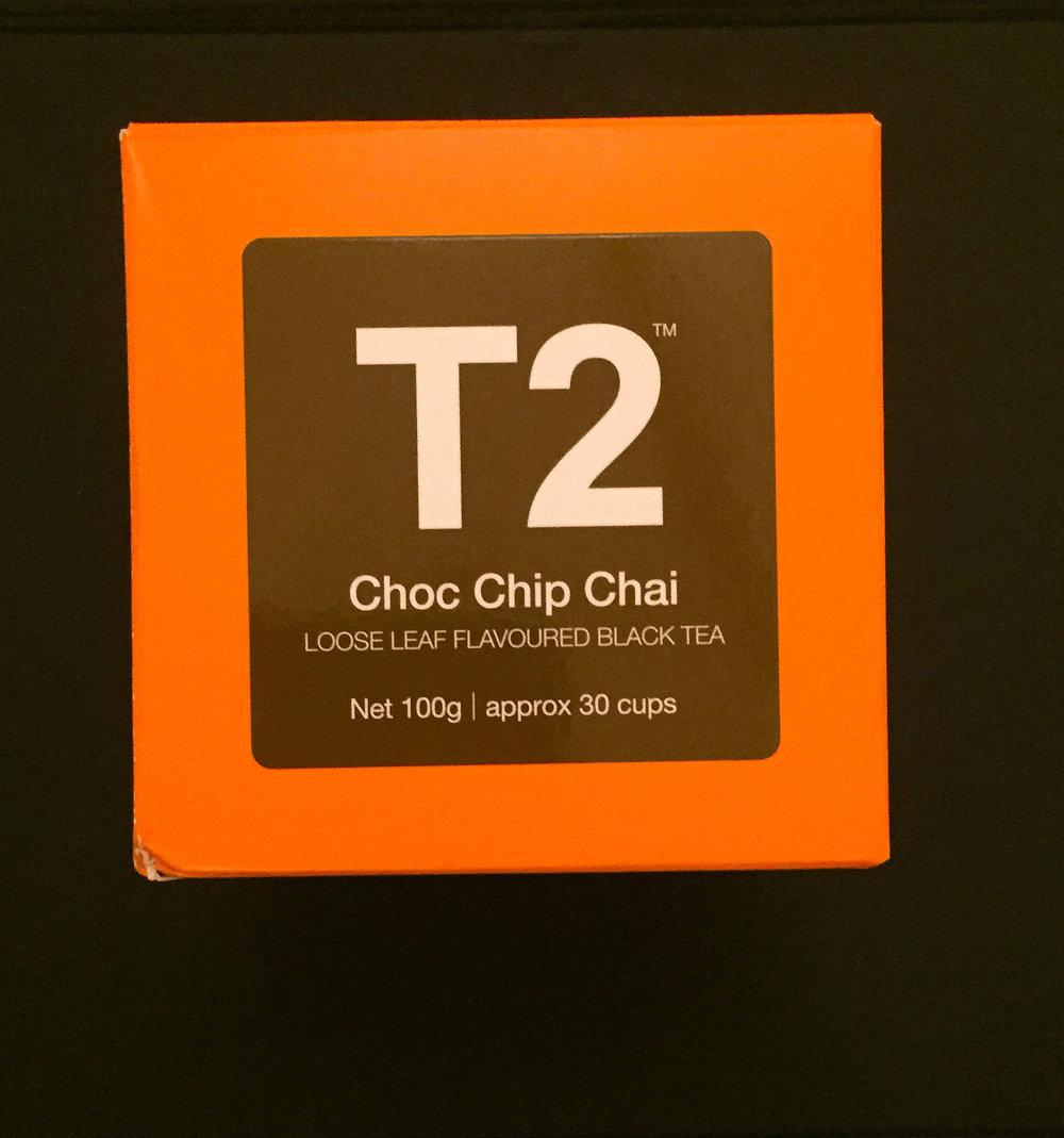 Choc Chip Chai perfect for Autumn