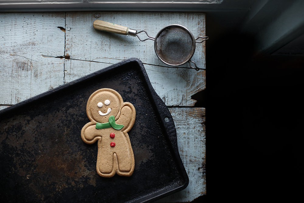 Gingerbread men from Caffe Nero