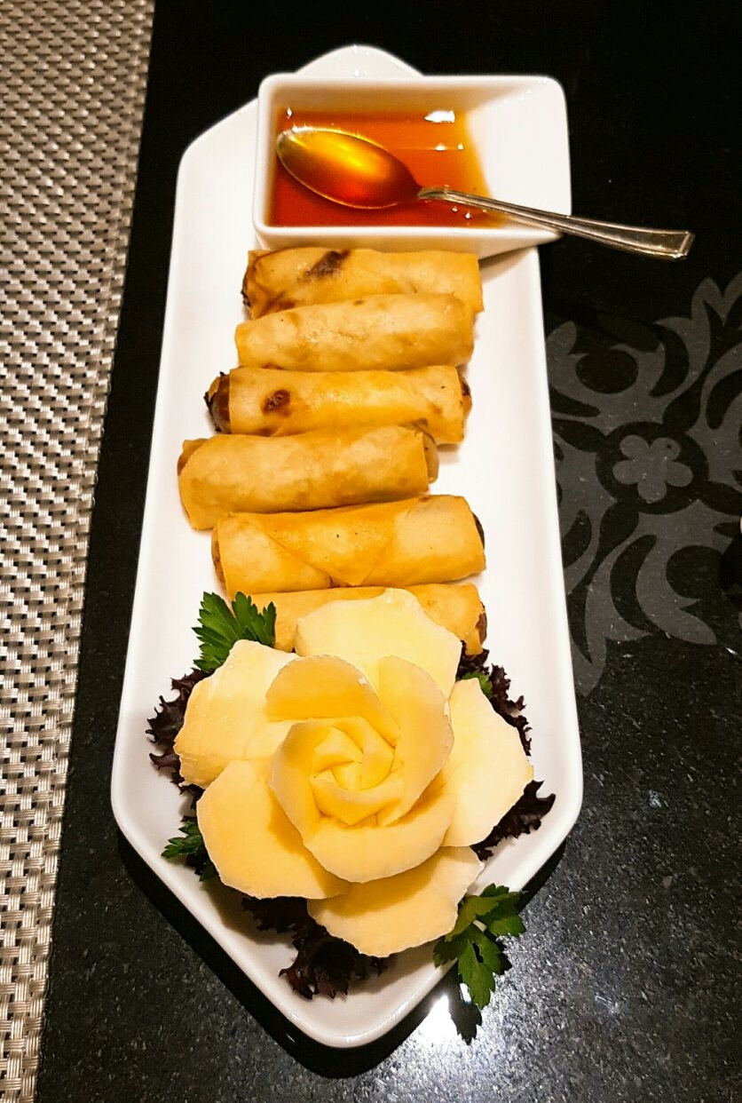 Spring rolls - Nipa Thai review