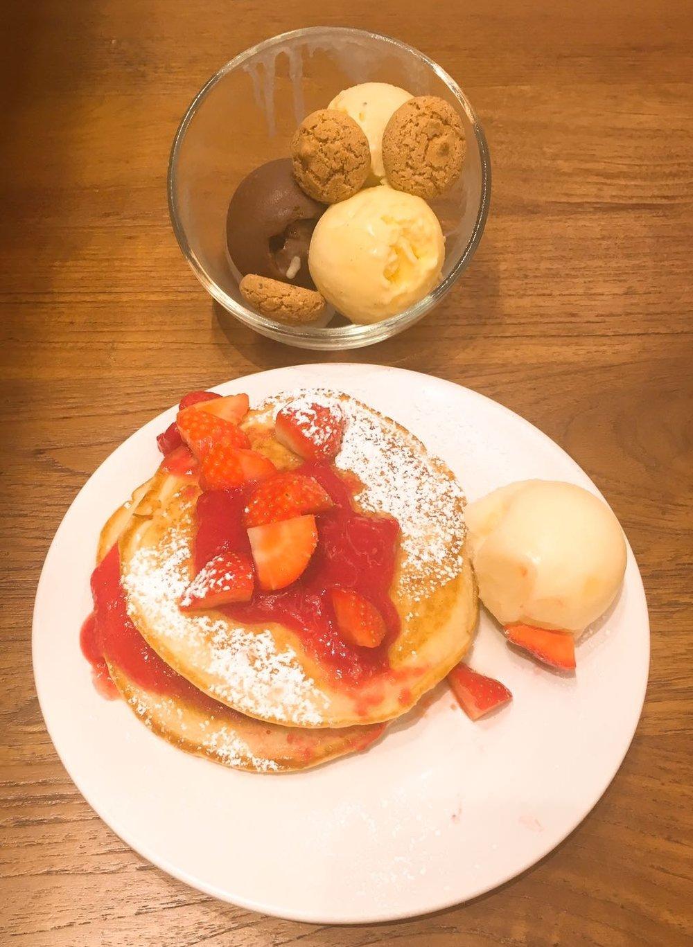 Dessert Menu Mercante Sheraton Hotel review