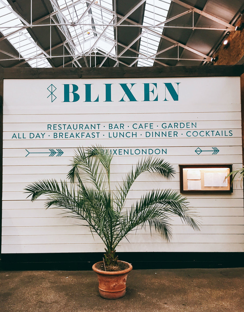 Review lunch at Blixen Shoreditch