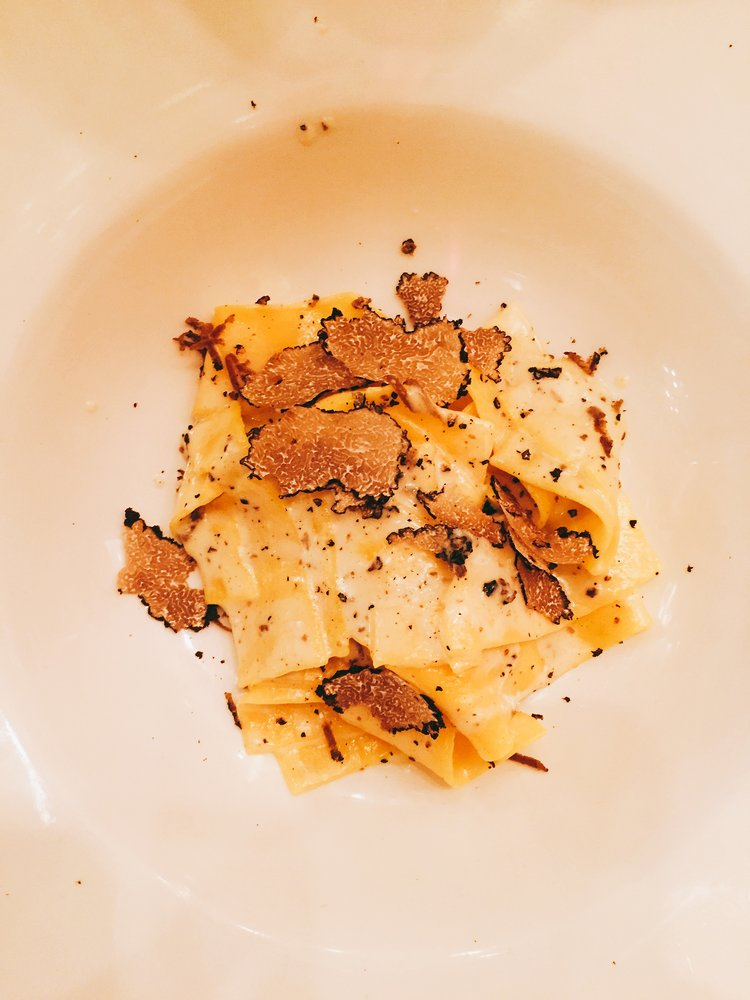 Pasta at Frescobaldi - Review