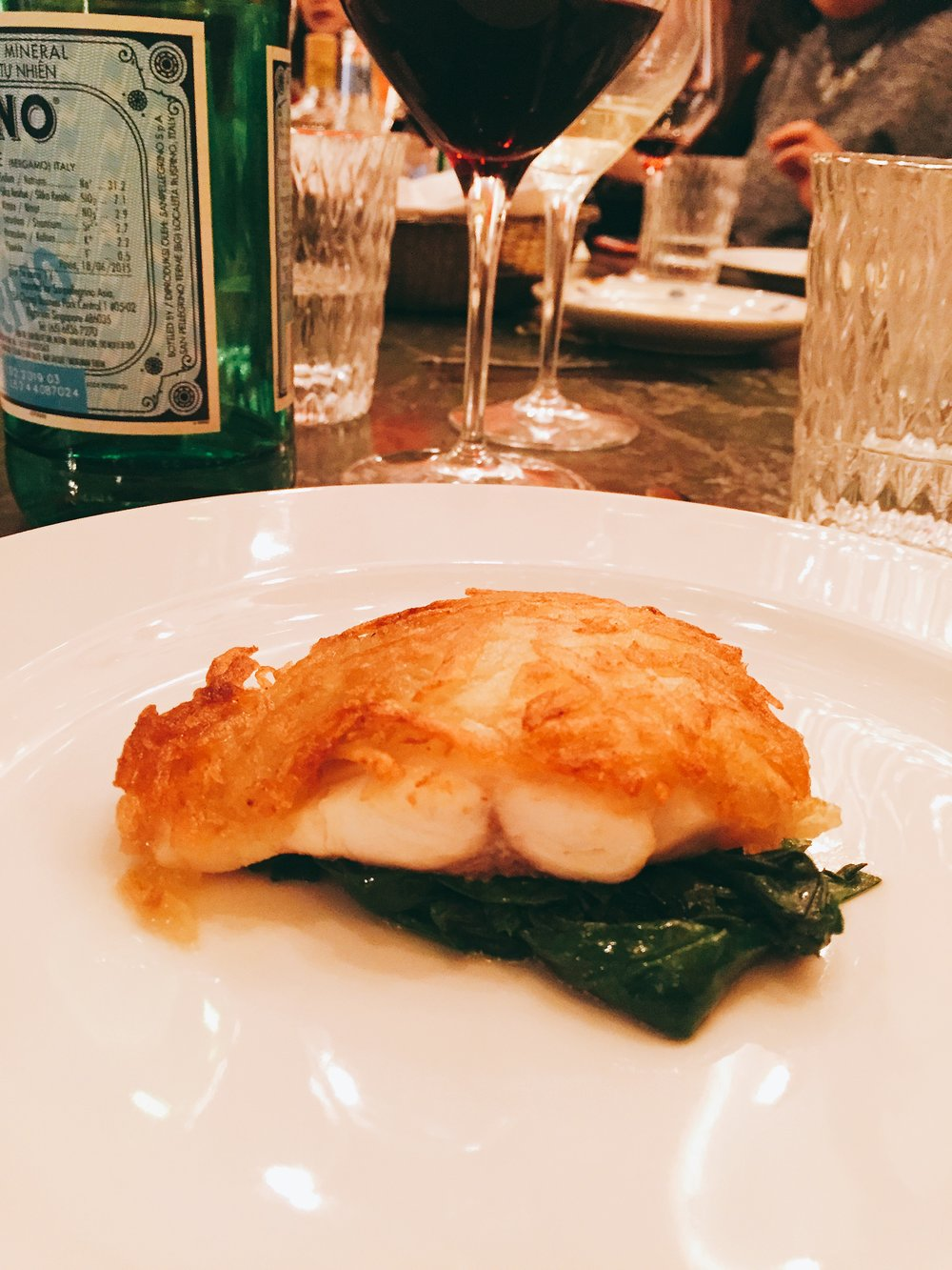 Cod at Frescobaldi - Review