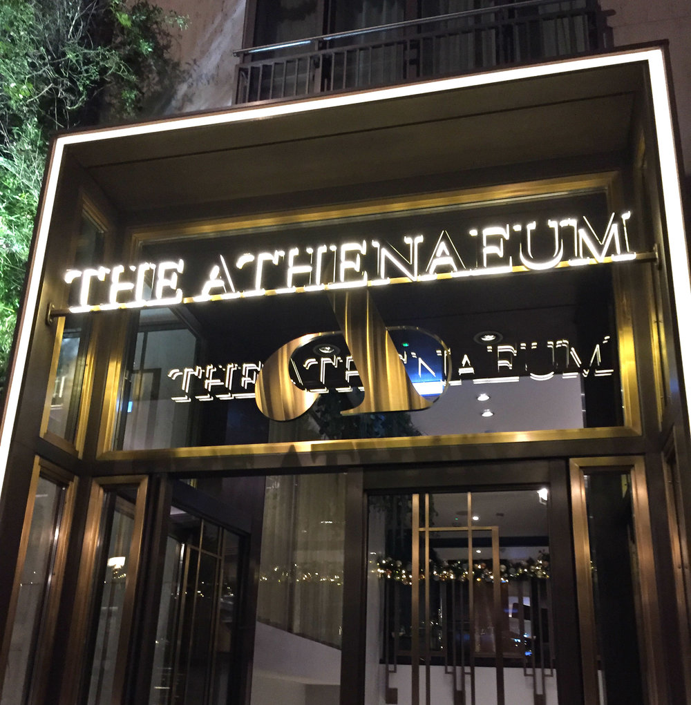 Galvin At The Athenaeum - Review