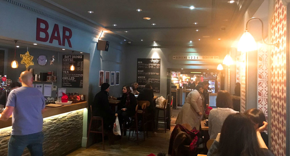The Ritzy Brixton Restaurant Cafe Review