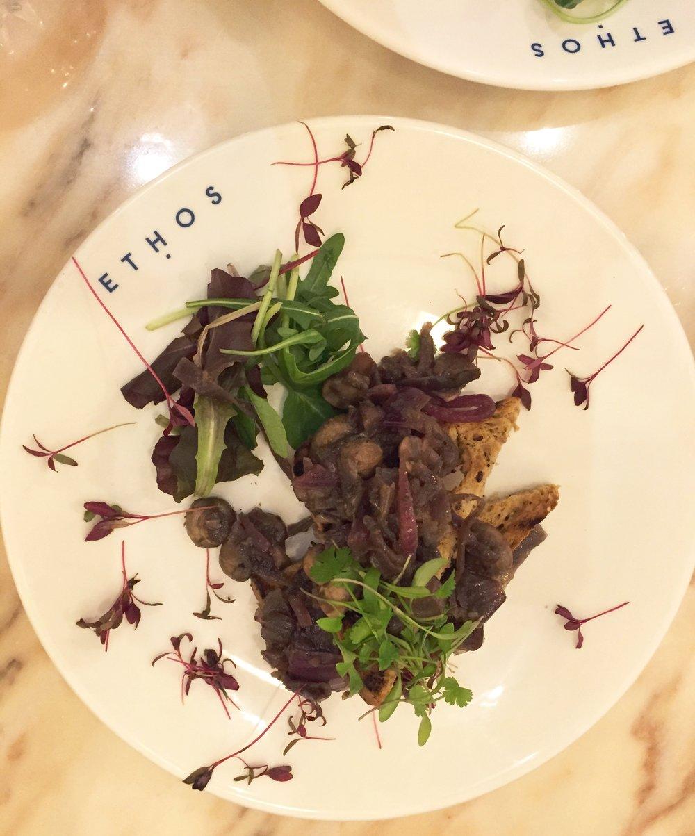 Ethos restaurant review - dinner