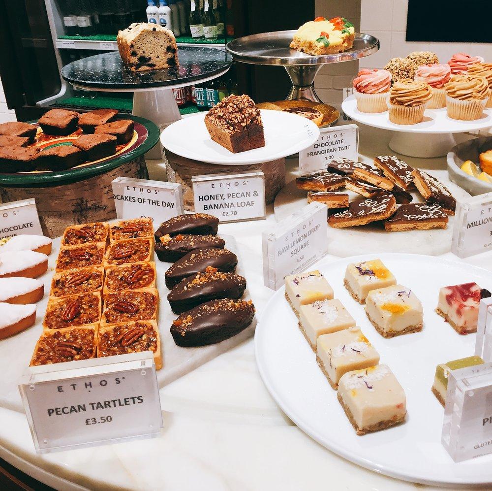 Ethos restaurant review  - desserts