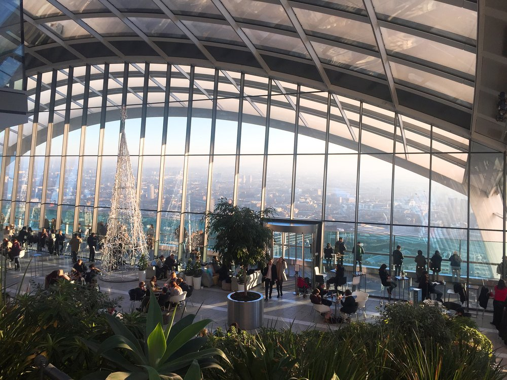 View from Sky Garden, London