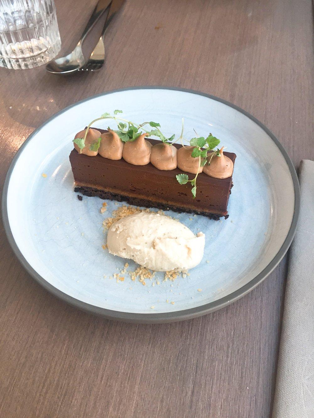 Dessert at Darwin Brasserie, Sky Garden