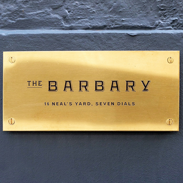 The Barbary Restaurant London