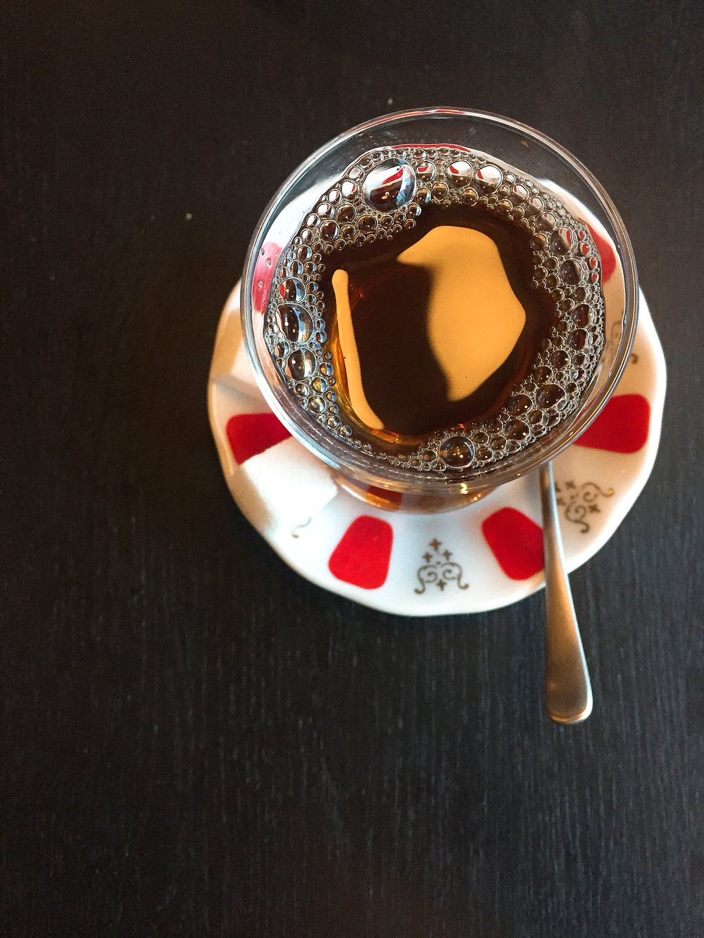 Turkish Tea - Yosma restaurant review London