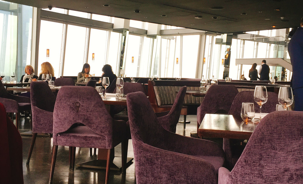 Nice Aqua Shard Restaurant Review