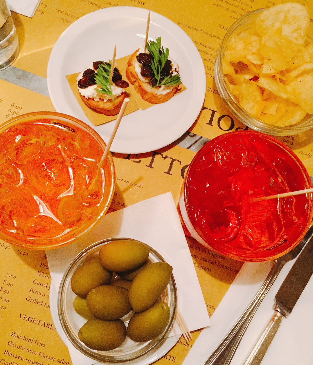 Aperitivo Time at Polpetto