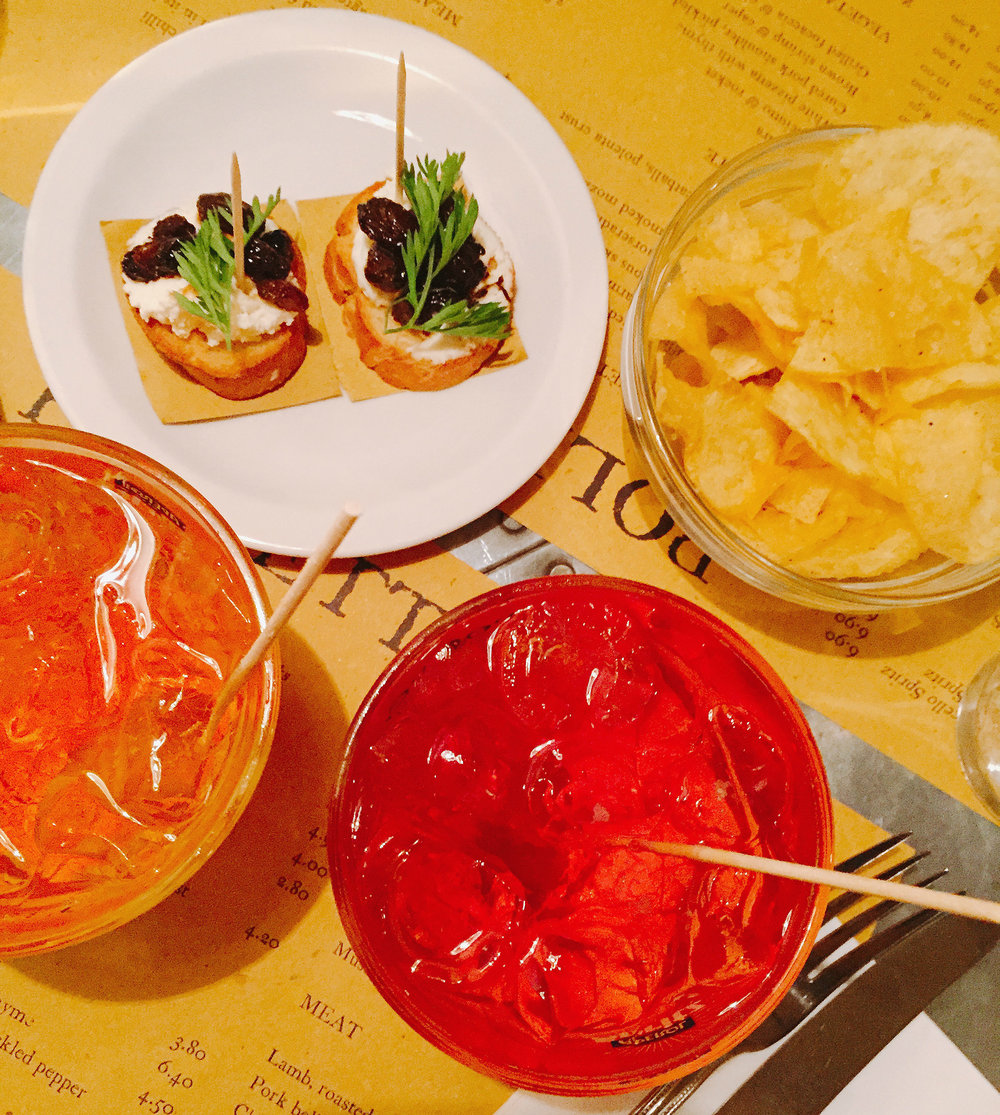 Polpetto Aperitivo time review