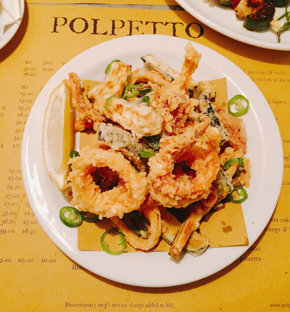 Polpetto review squid