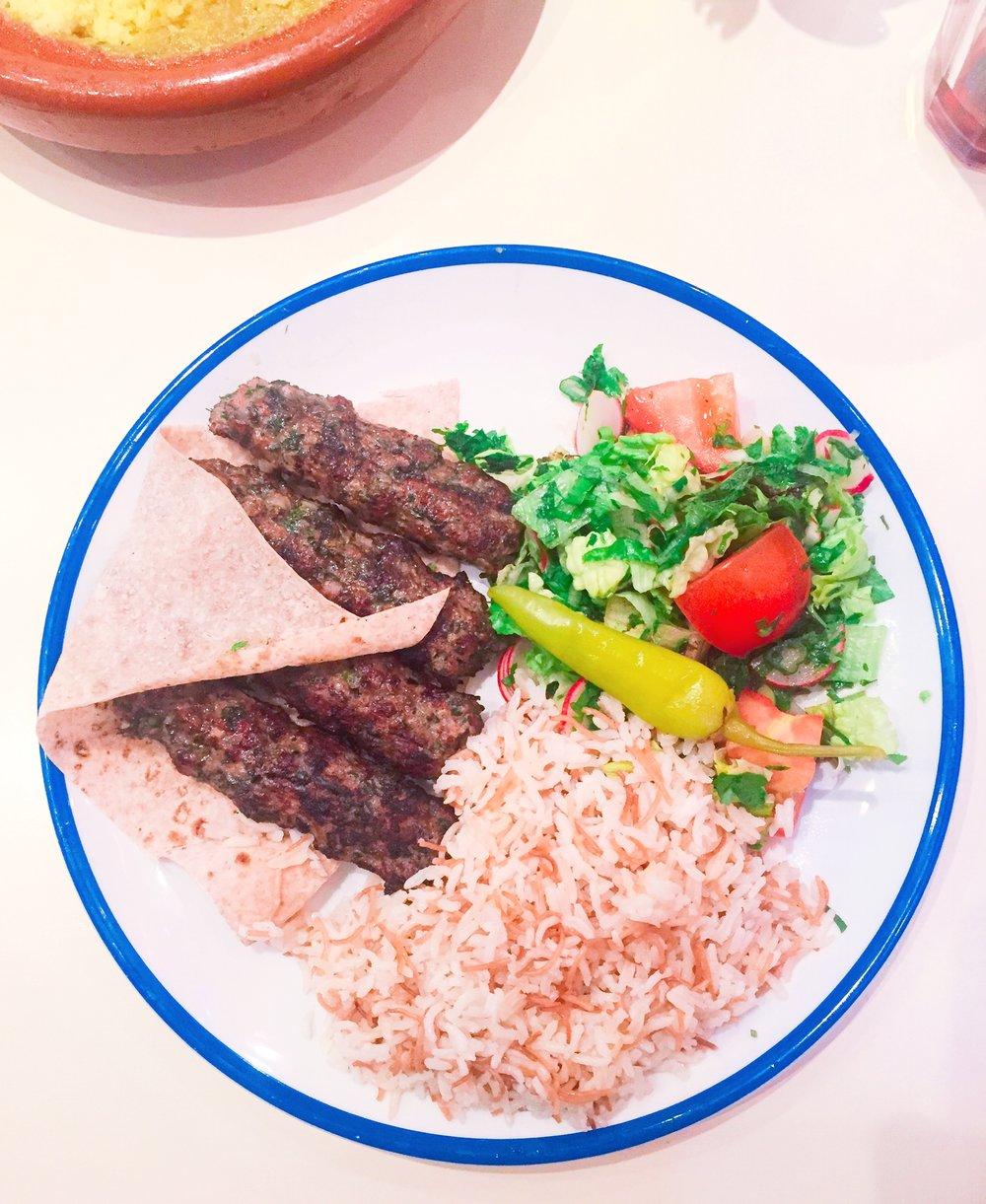 Kebab - Comptoir Libanais review