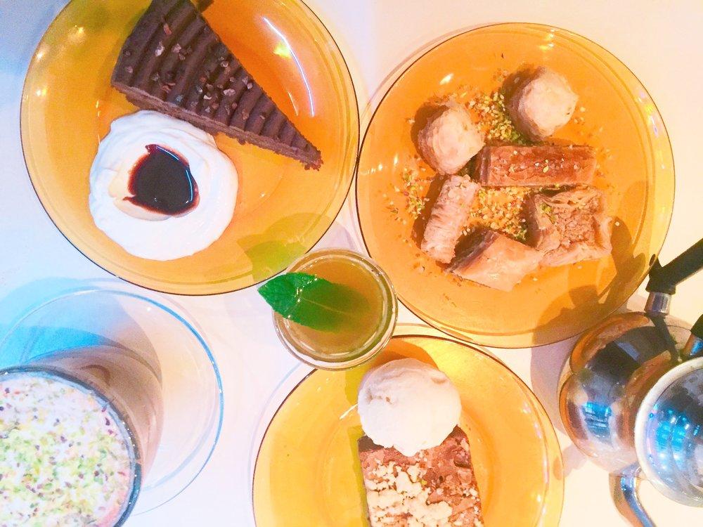 Dessert - Comptoir Libanais review
