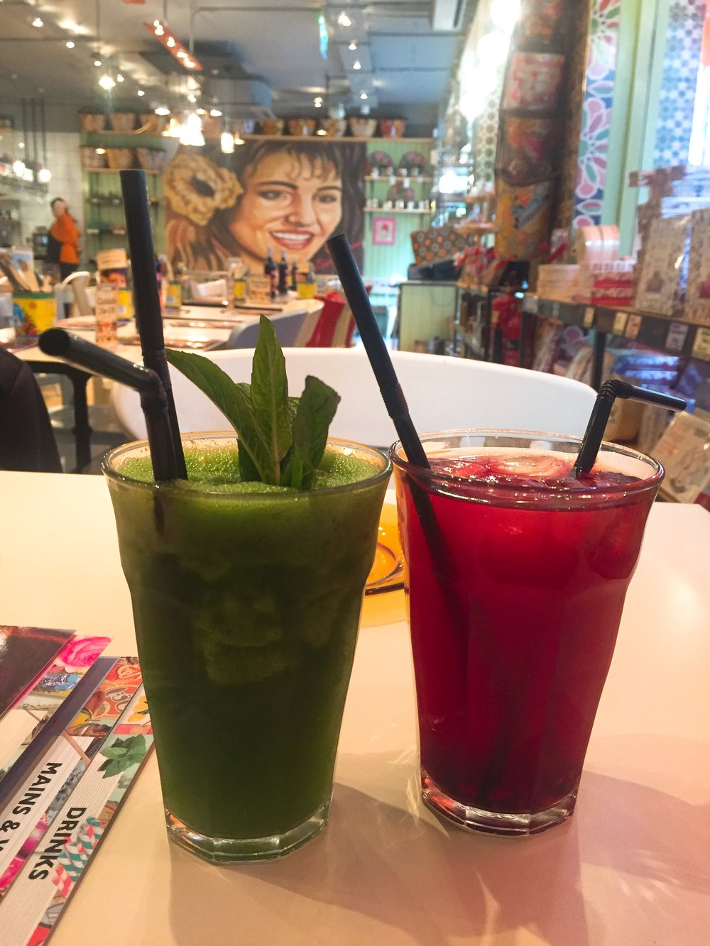 Drinks at Comptois Libanais review