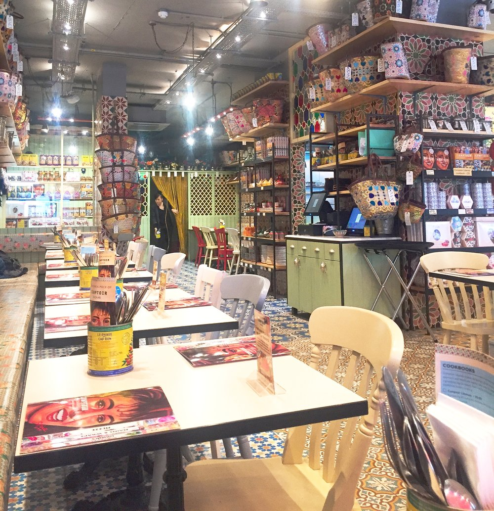 Comptois Libanais review, Soho London