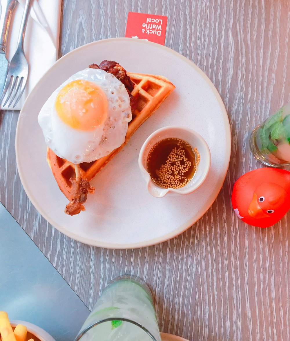 Duck and waffle local review
