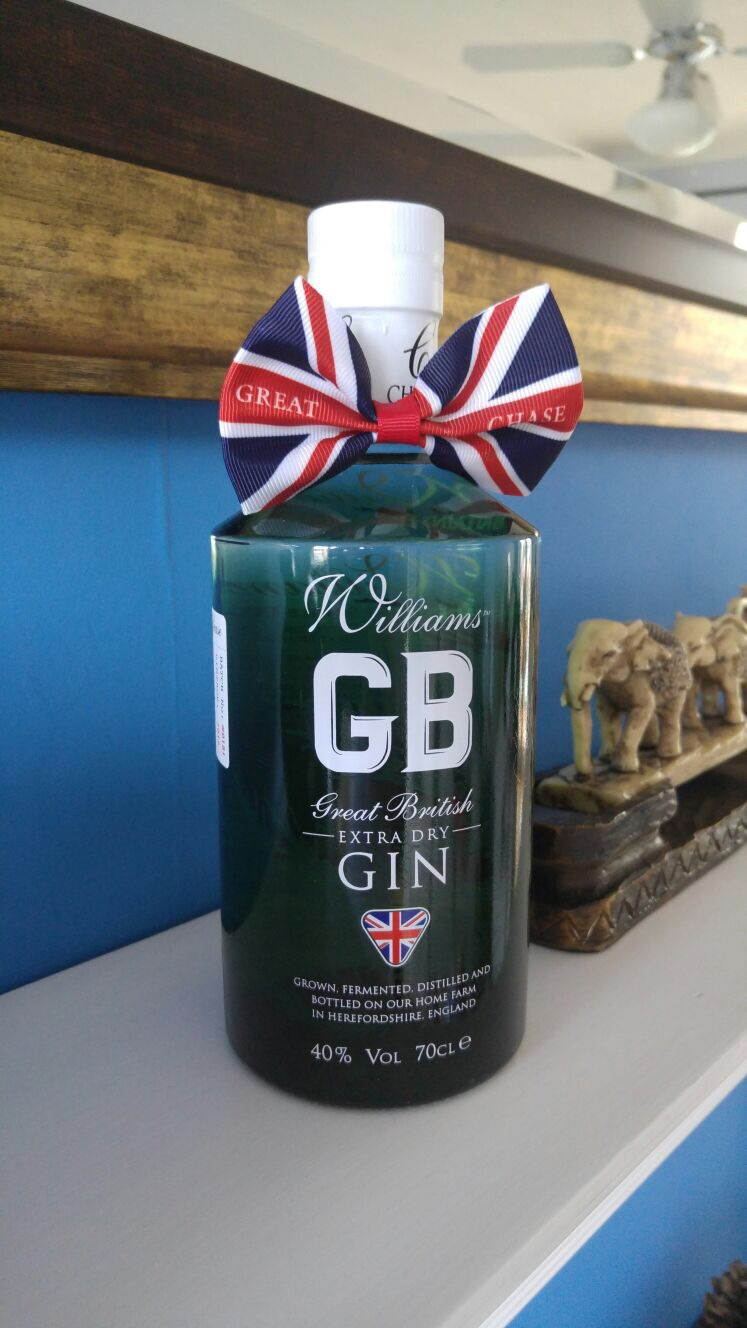 Williams GB Gin for picnics