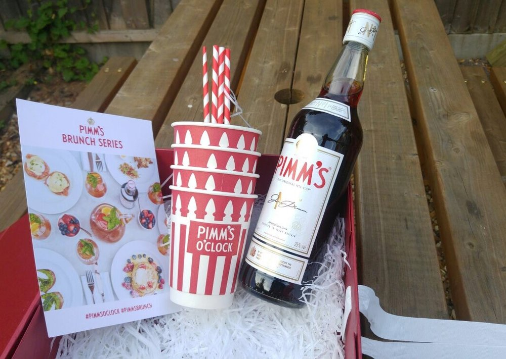 Pimms picnic summer