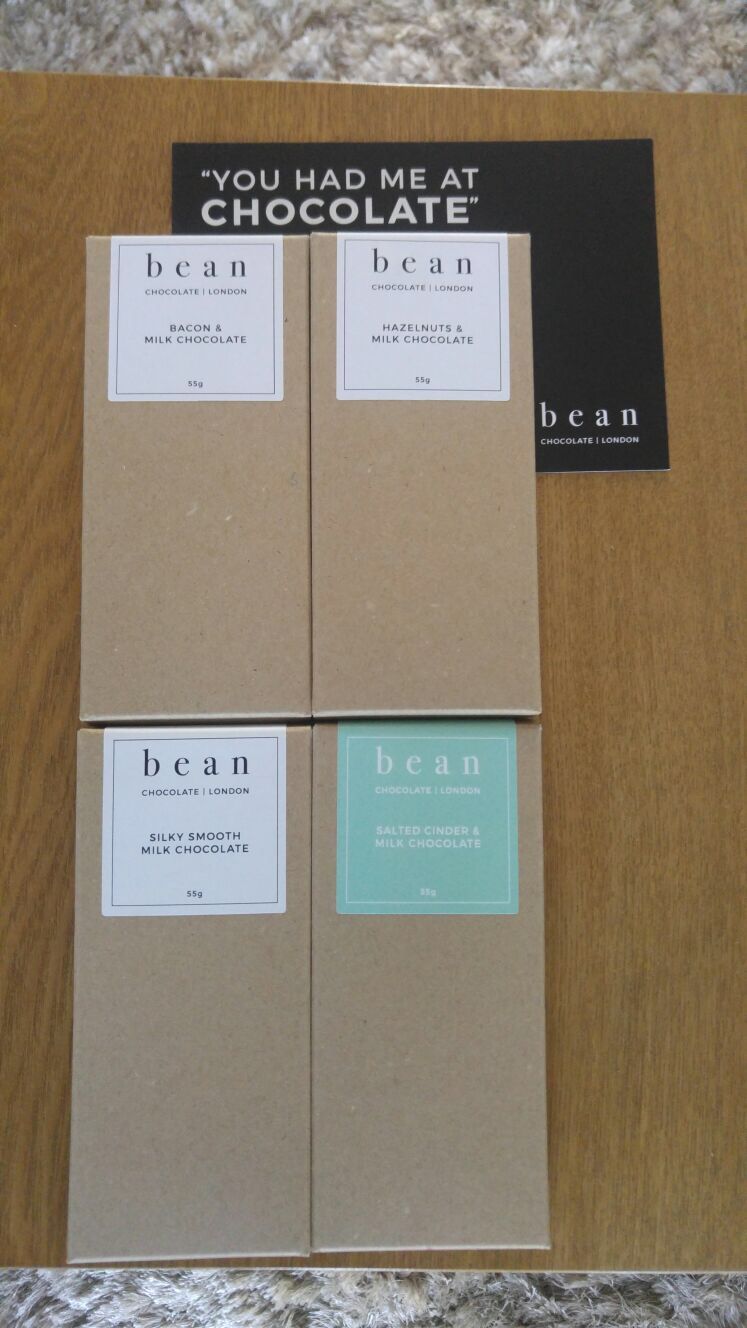 Bean chocolates