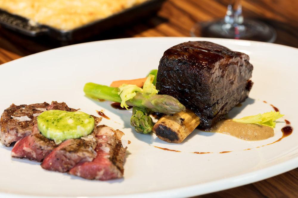 Steak at STK London
