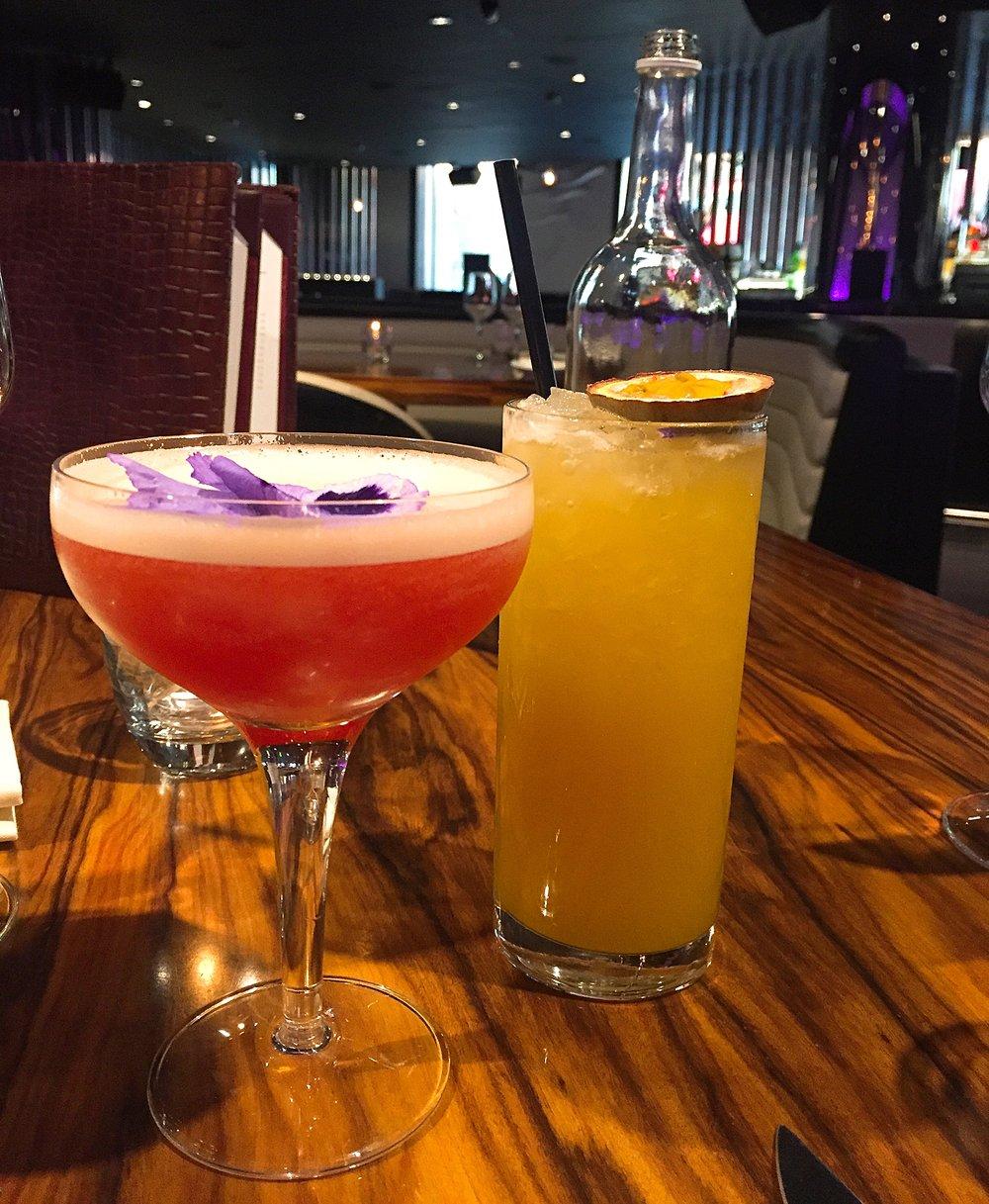 Cocktails at STK