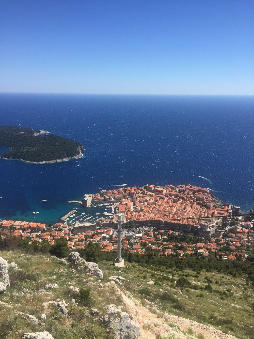 Cablecar Dubrovnik Croatia