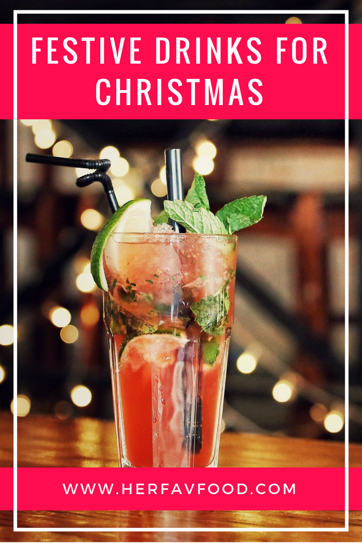 Christmas drinks ideas