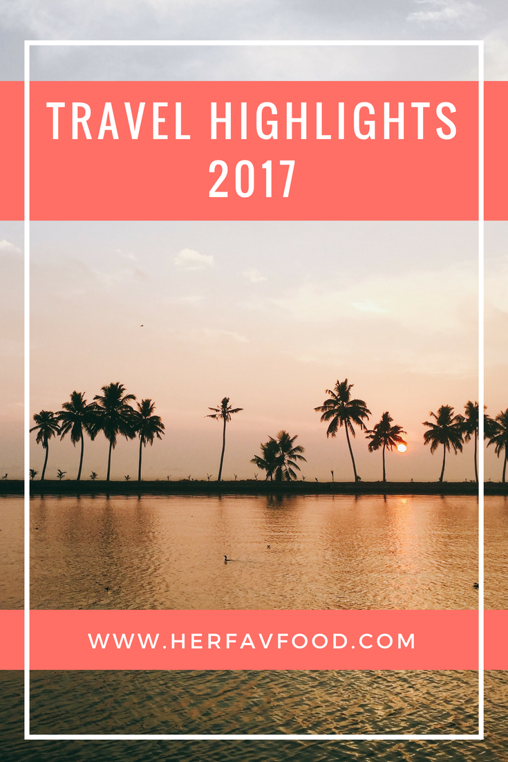 Travel highlights 2017